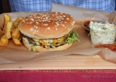 burger warszawa frytki