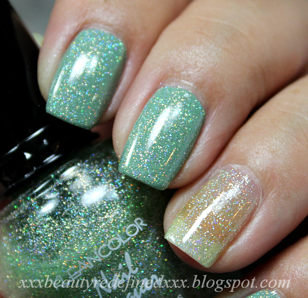 BeautyRedefined by Pang: Kleancolor Glitter Polishes Swatches ...