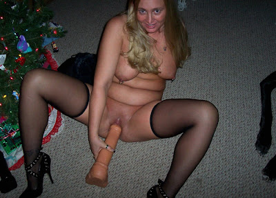 mature women with toy