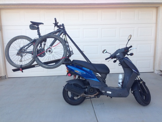 Confessions Of A Pedal Addict Park The Gas Guzzler Scooter