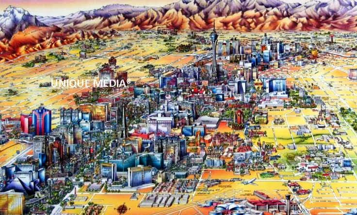 Mapa Dos Hoteis Las Vegas Mapa Las Vegas