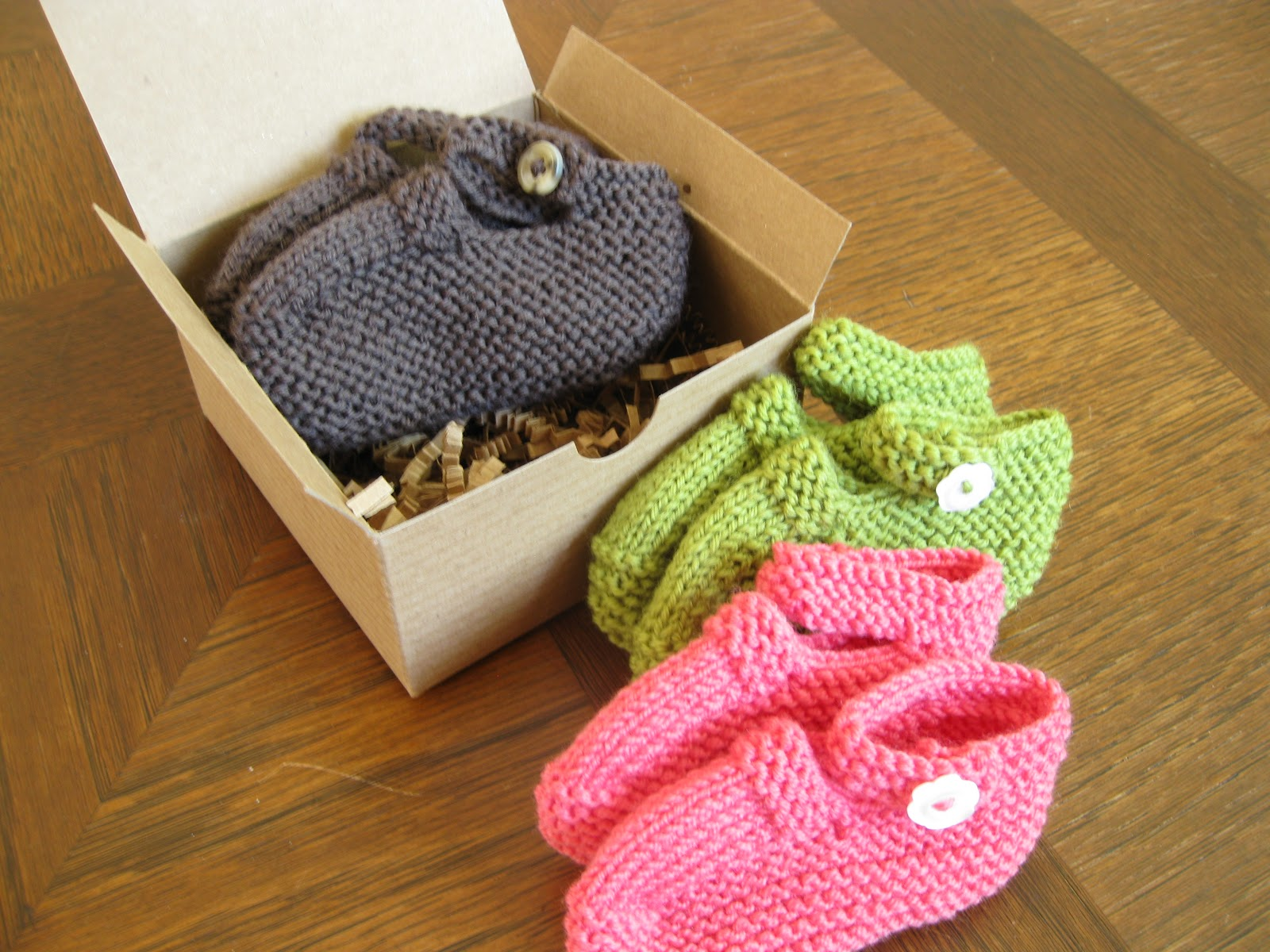Free Knitting Patterns Baby Booties Mary Jane : alipyper: Knit Mary Jane Booties