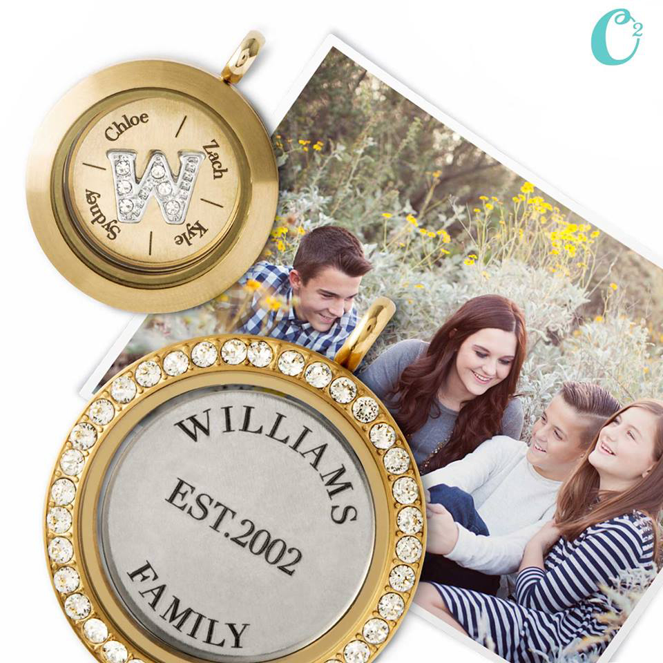 Your Family with Inscriptions by Origami Owl available at StoriedCharms.origamiowl.com