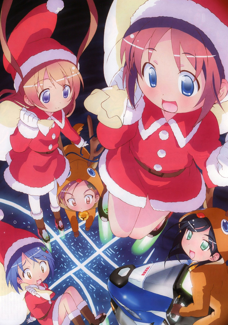 Pretty Christmas Anime Wallpapers Of 2012