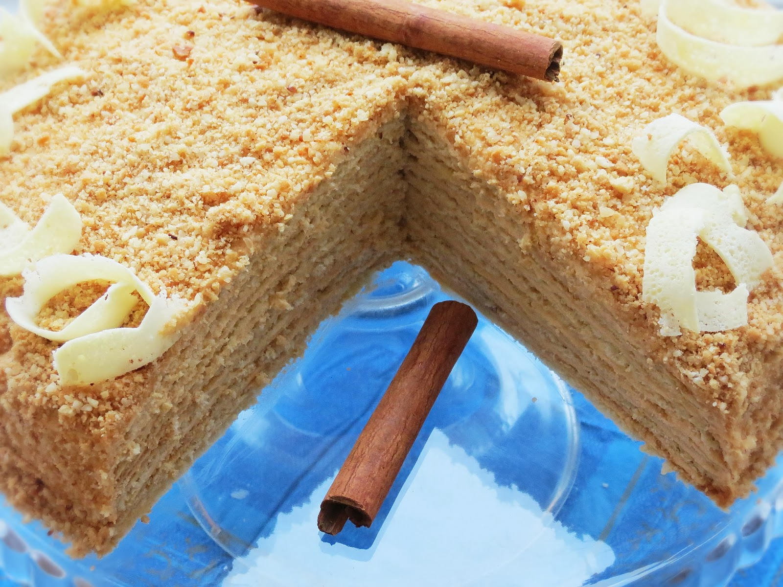 Медовый рецепт медовый торт со сгущенкой