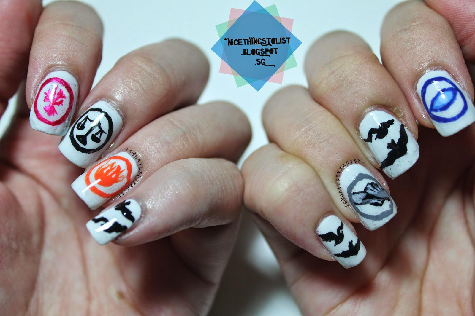 Divergent Inspired Nail Art Nice Things To List