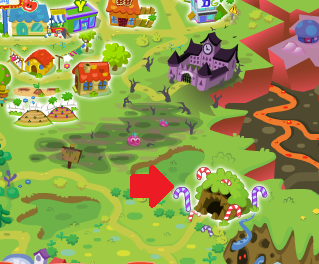 Moshi Monsters Candy Cane Caves