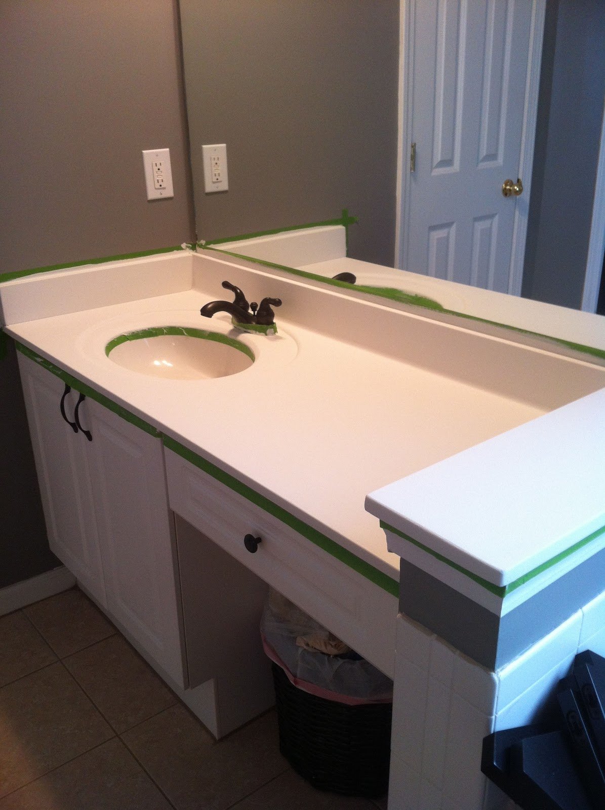 I Painted My Countertops And Lived To Tell The Tale ;)