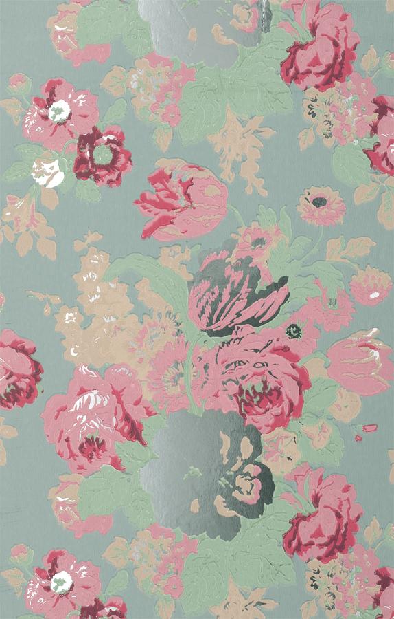 La fleur vintage floral wallpaper part ii thibautdesign mightylinksfo