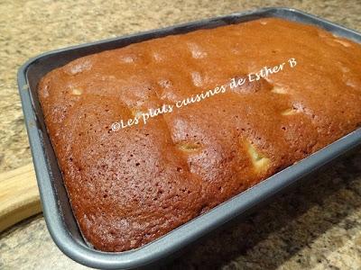 les plats cuisinés de esther b: gâteau à la salade de fruits