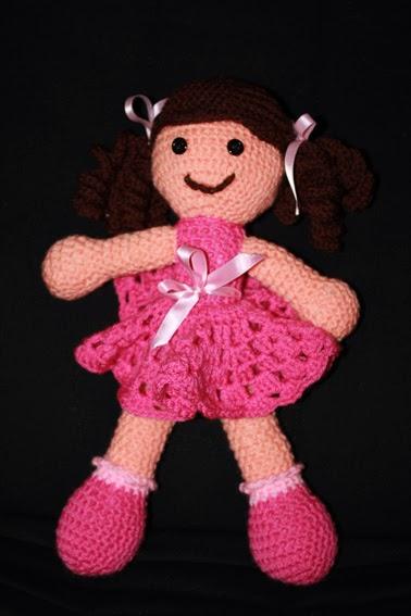 Crochet muñeca