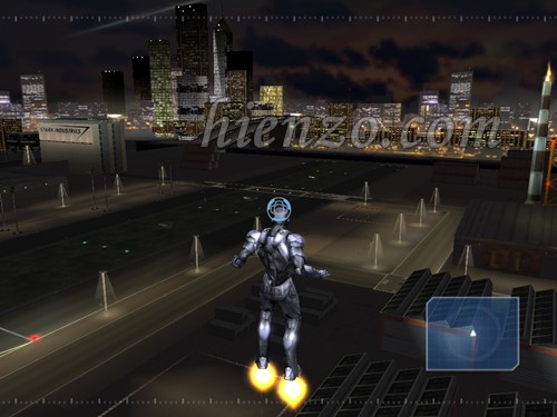 Screenshot game iron man for pc