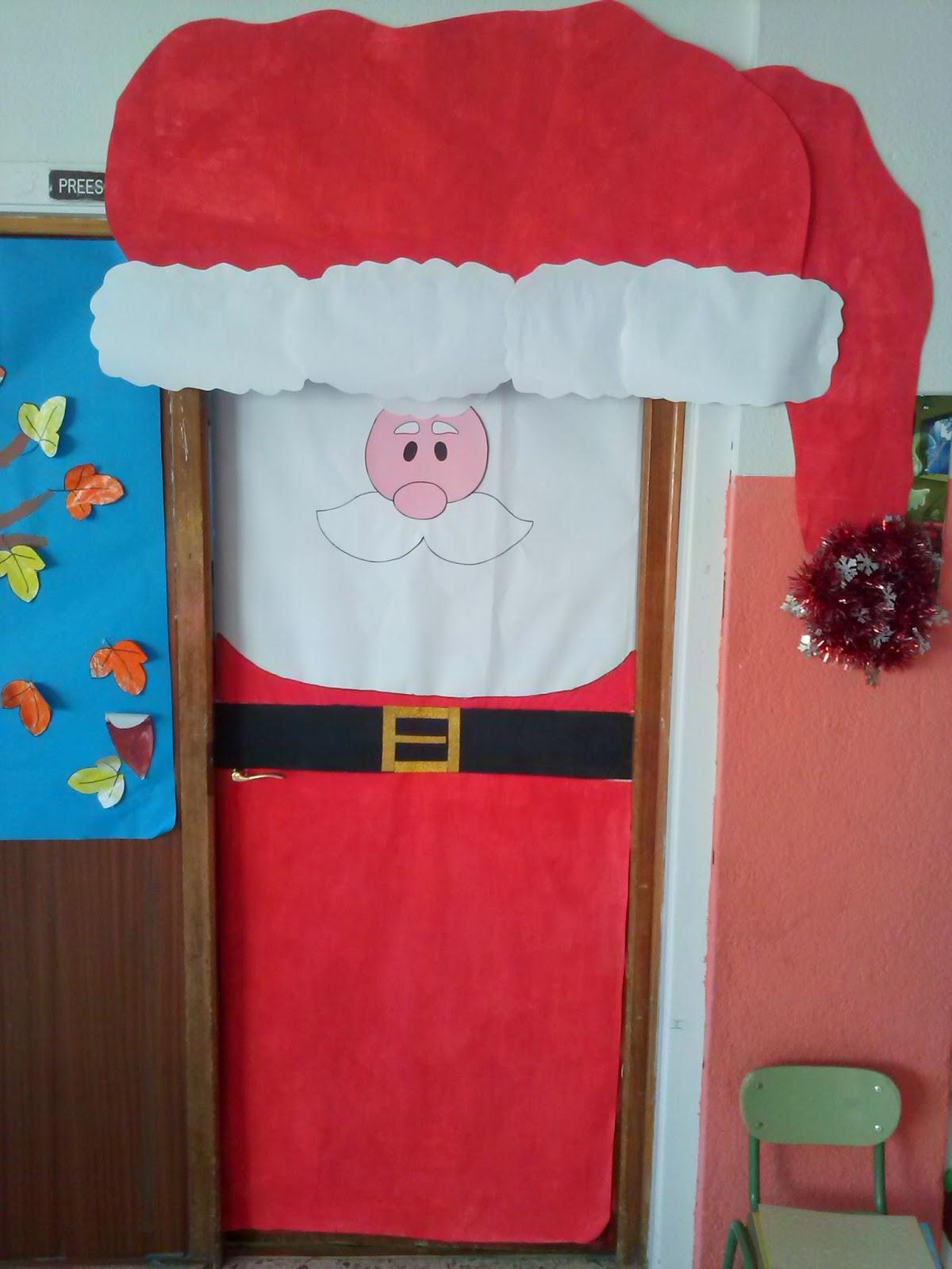Infantil aula 3 a os decoraci n navide a colegio for Decoracion navidena infantil