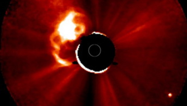 Video Ledakan Matahari Dari Hasil Rekaman