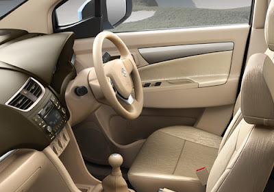 Interior kabin Suzuki Ertiga Facelift