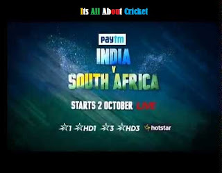 india vs sa advertising sponsors paytm