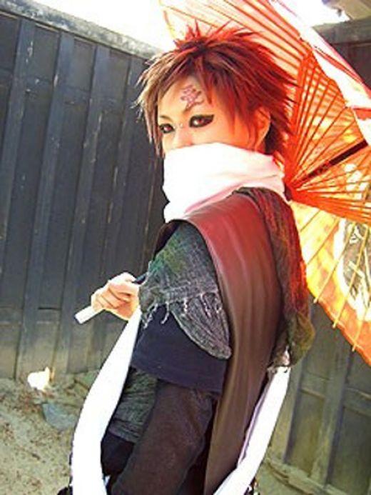 Naruto Cosplay: Naruto cosplay Gaara Gaara Cosplay