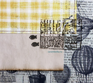 Скрап-альбом для свадебных пожеланий. Набор с рассадочными карточками. Материалы: магазин Скрапбукшоп. Мини-штампы.