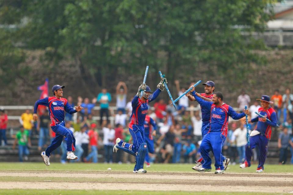 Nepali+cricket+Team+Nepal+Uganda+Division3