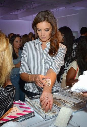 Katie Holmes at Fashion Week in New York!