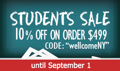 Student SALE until September-1