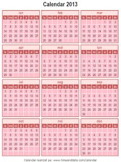 Calendar 2013 - 6