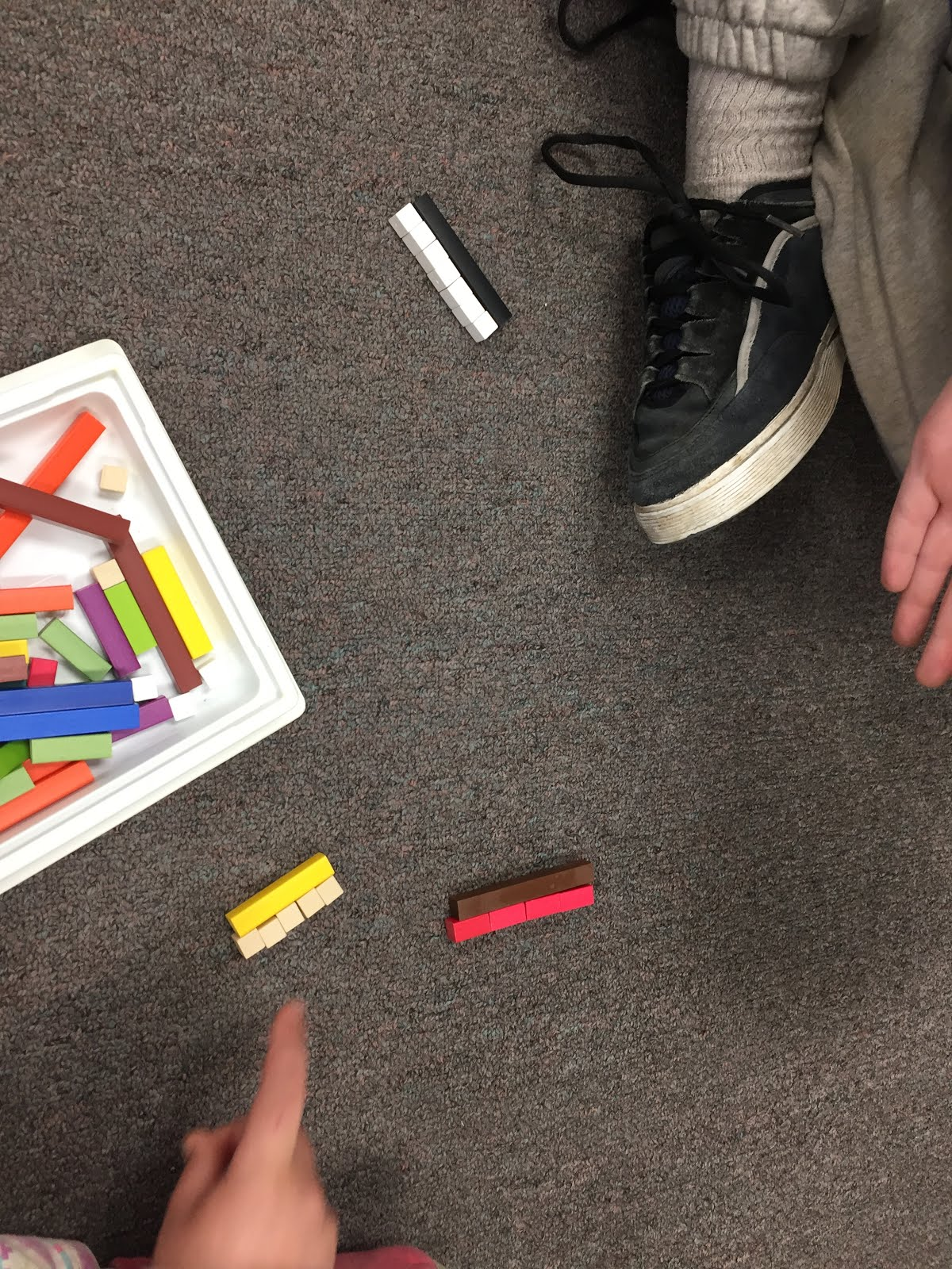 In The Activity Below, Students Used Cuisenaire Rods To Explore Fractions  Students Worked In Groups To Divide