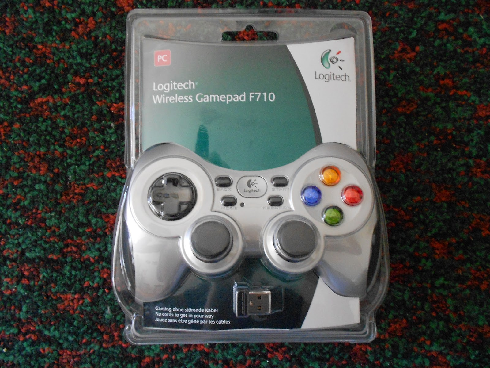 Скачать драйвер на logitech wireless gamepad f710