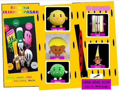Boneka Jajanan Pasar