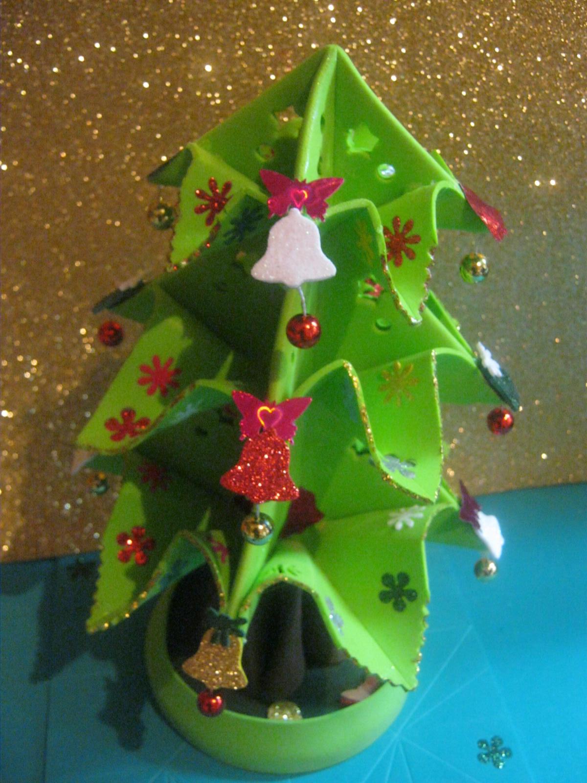 Mis fofuchas 2013 artfoamicol nuevo arbolito de navidad - Arbolito de navidad ...