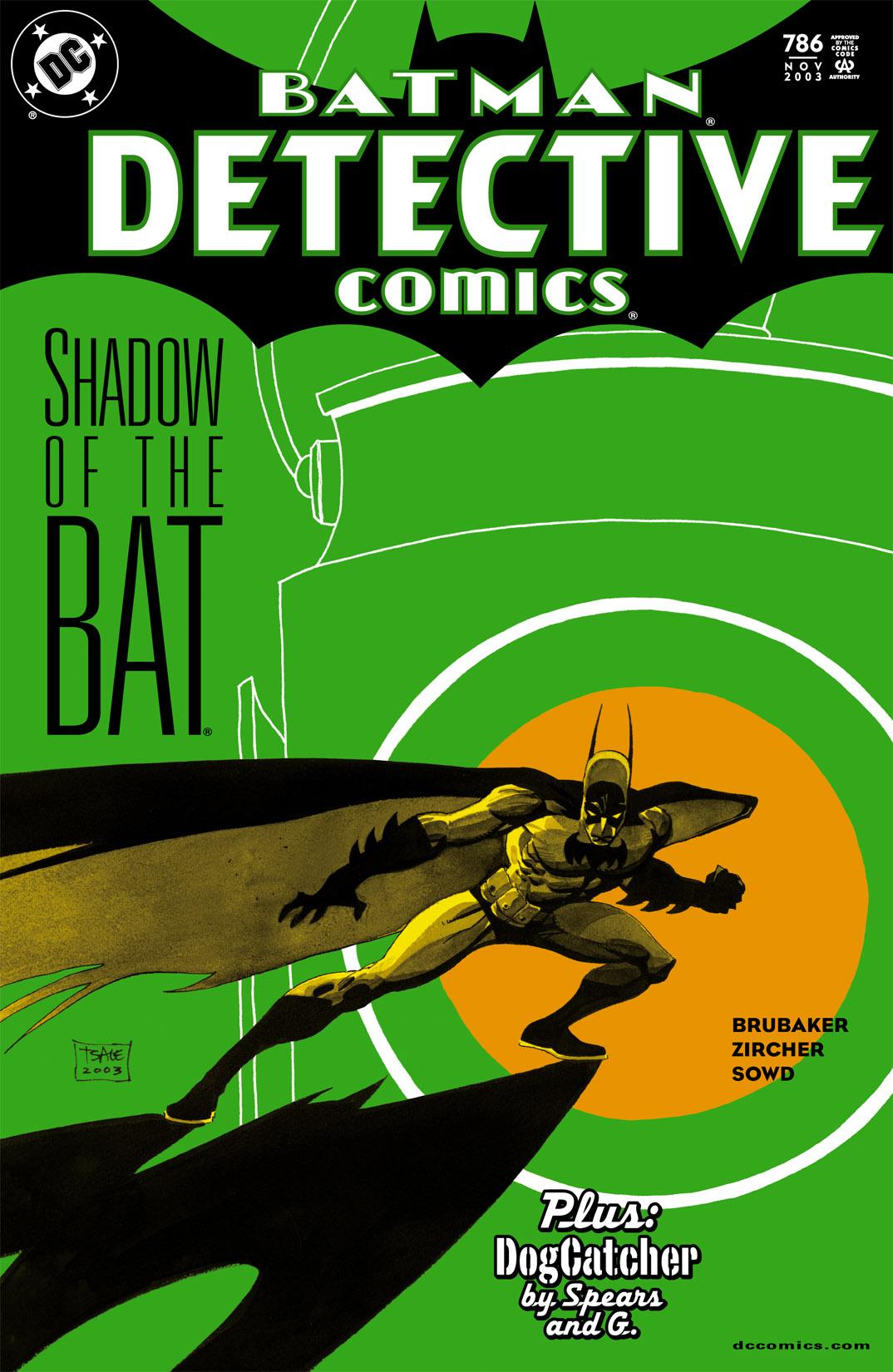 Detective Comics (1937) 786 Page 1