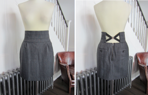 D&G Grey Skirt