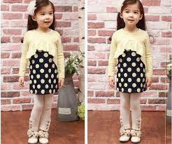 gaya fashion anak kecil korea