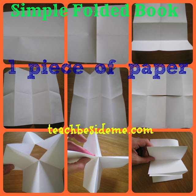 how to make book out of paper folding