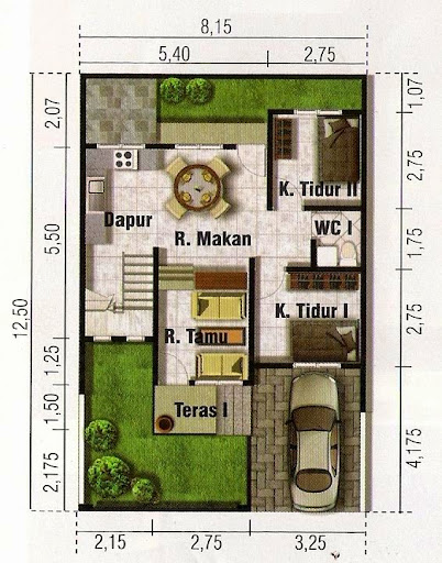 & Desain Rumah Minimalis di Lahan Sempit