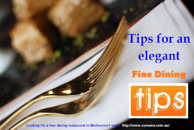fine dining melbourne