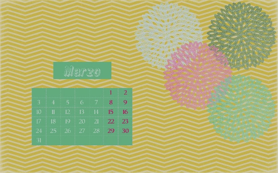 calendario Marzo cinco