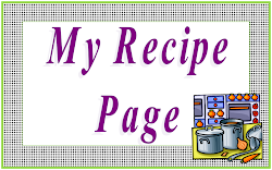 My Recipe Page Blog