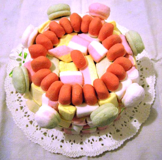 Rainbow Gadgets Torta Di Marshmallow Bella Buona E