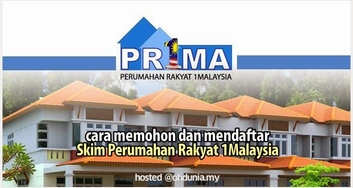 Cara Memohon & Daftar Online PR1MA - Perumahan Rakyat 1Malaysia