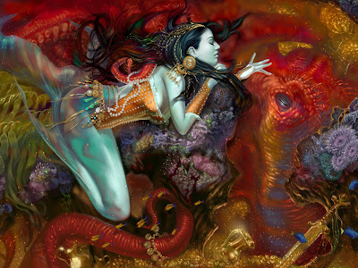 fantasy, siren, mermaid