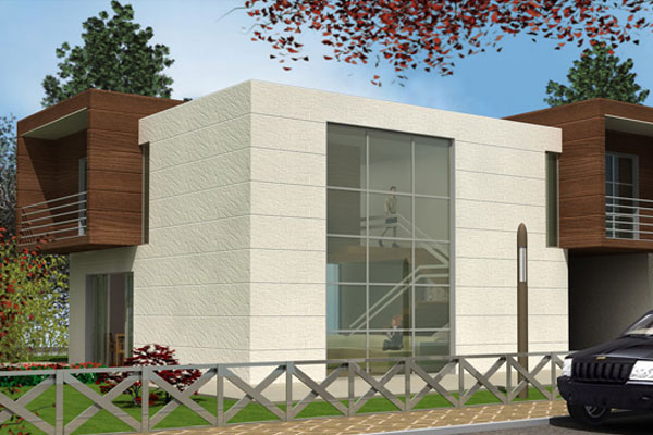 German modern stylish homes exterior designs front views for German home designs