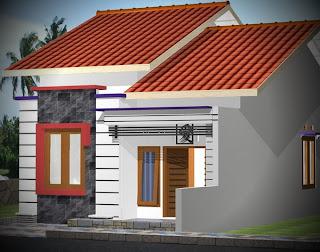 rumah sangat sederhana type 21