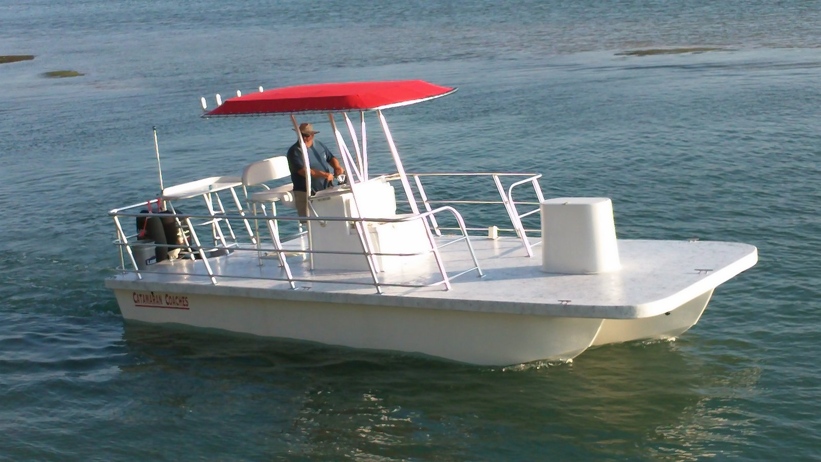 Catamaran coaches pontoon boats may 2011 for Party boat fishing near me