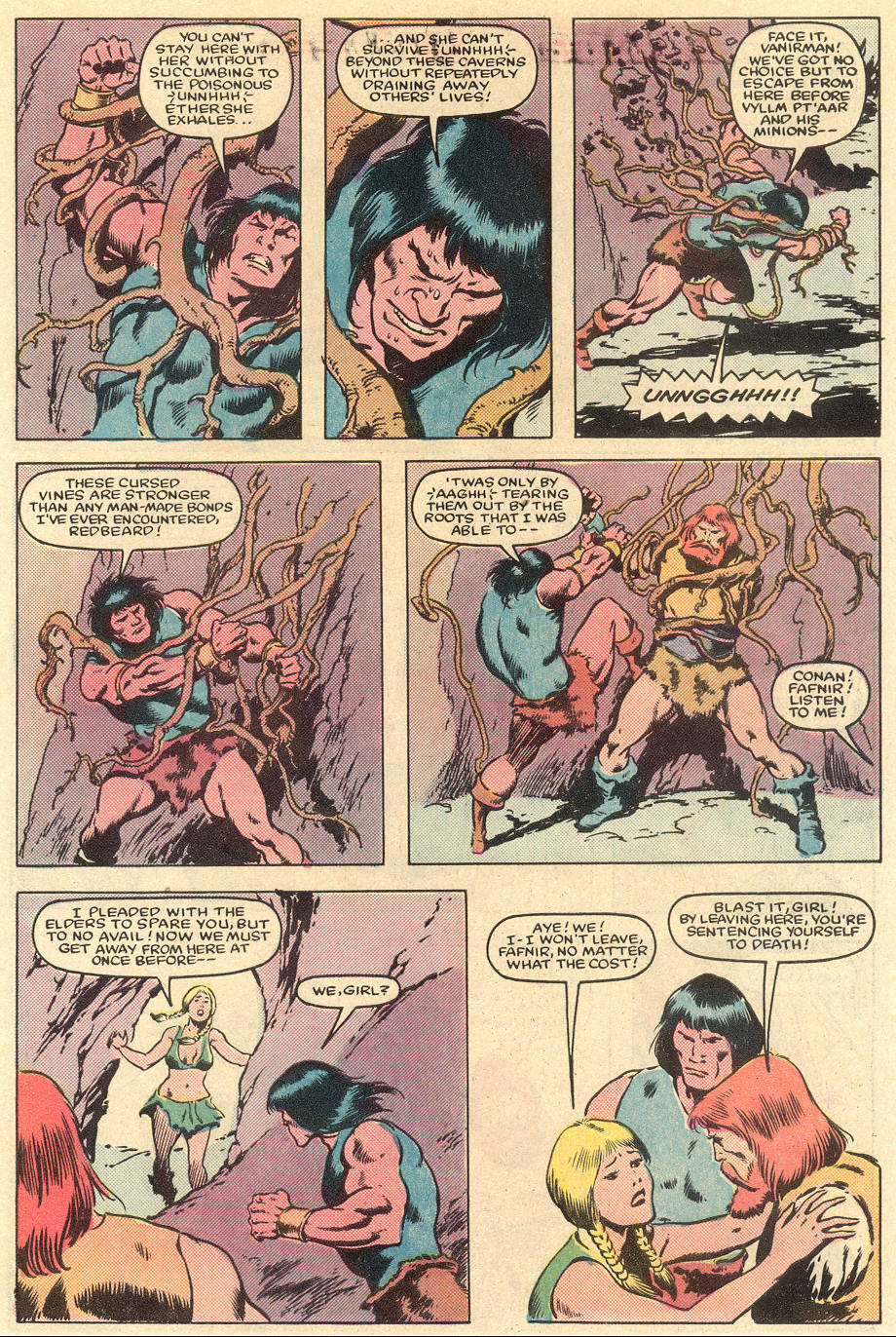 Conan the Barbarian (1970) Issue #163 #175 - English 22