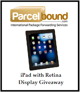 Enter by July 11th for your chance to win an iPad with Retina Display. Open worldwide.