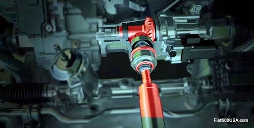 Fiat 500X Power Transfer Unit