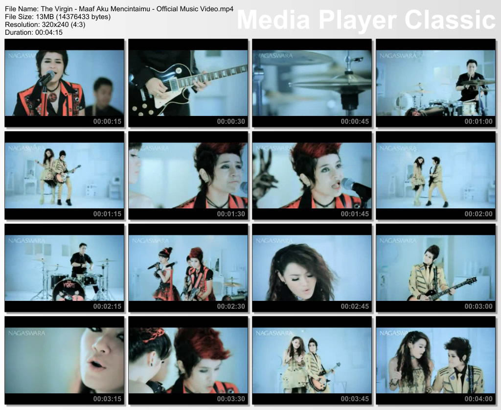 artist the virgin judul v maaf aku mencintaimu official music video