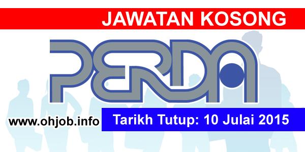 Jawatan Kerja Kosong Penang Regional Development Authority (PERDA) logo www.ohjob.info julai 2015