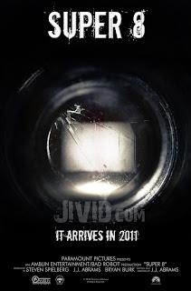 Poster oficial película Super 8 - J.J. Abrams, Steven Spilberg - estreno en junio 2011